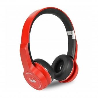 Monster Clarity 50 Bluetooth Headphone Black Red