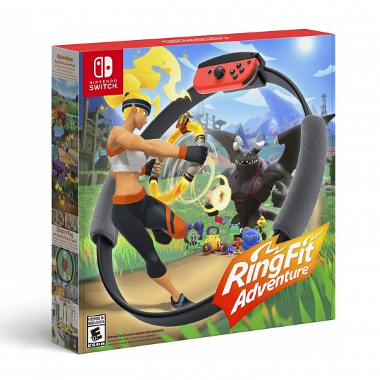 Nintendo Switch RingFit Adventure Black