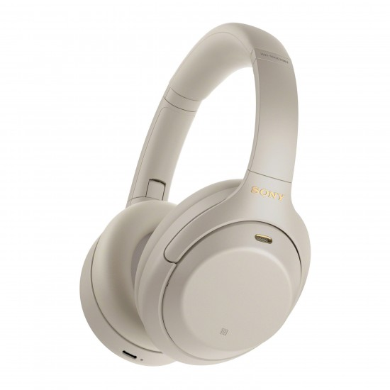Sony WH-1000XM4 Wireless Noise Cancelling Headphones Platinum Silver